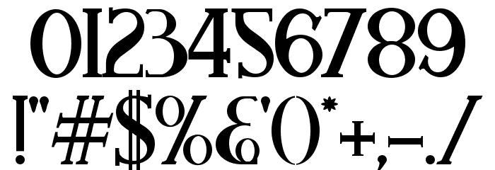 Aleijadinho Font OTHER CHARS