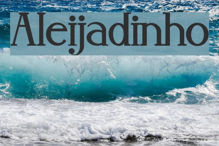 Aleijadinho Fonte examples