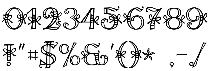 Ales & Hegar Raw Font OTHER CHARS