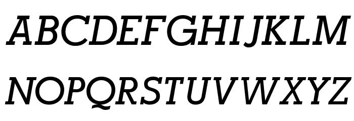 AlexandriaFLF-BoldItalic फ़ॉन्ट अपरकेस