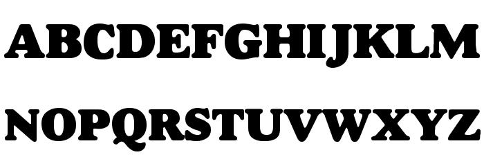 Alfredo Heavy Font UPPERCASE