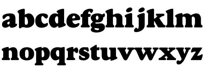 Alfredo Heavy Font LOWERCASE