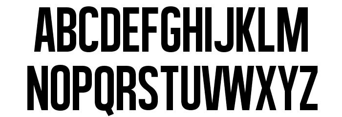 Al�gre Sans Font LOWERCASE