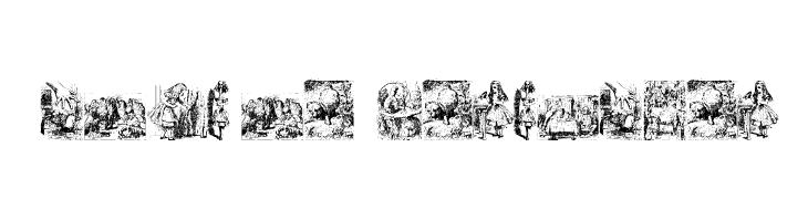 Alice in Wonderland  Free Fonts Download