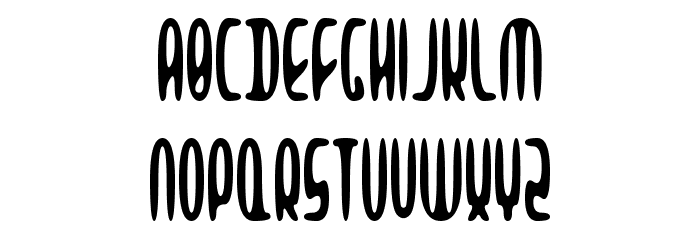 Alien Beasts Font UPPERCASE