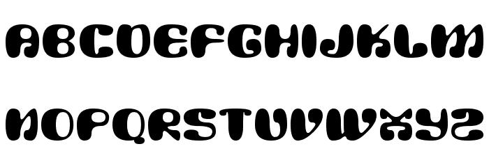 Alien Mushrooms Font UPPERCASE