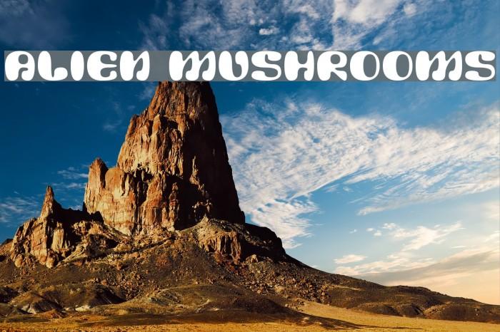 Alien Mushrooms لخطوط تنزيل examples