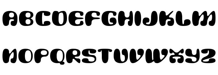 Alien Mushrooms Schriftart Kleinbuchstaben