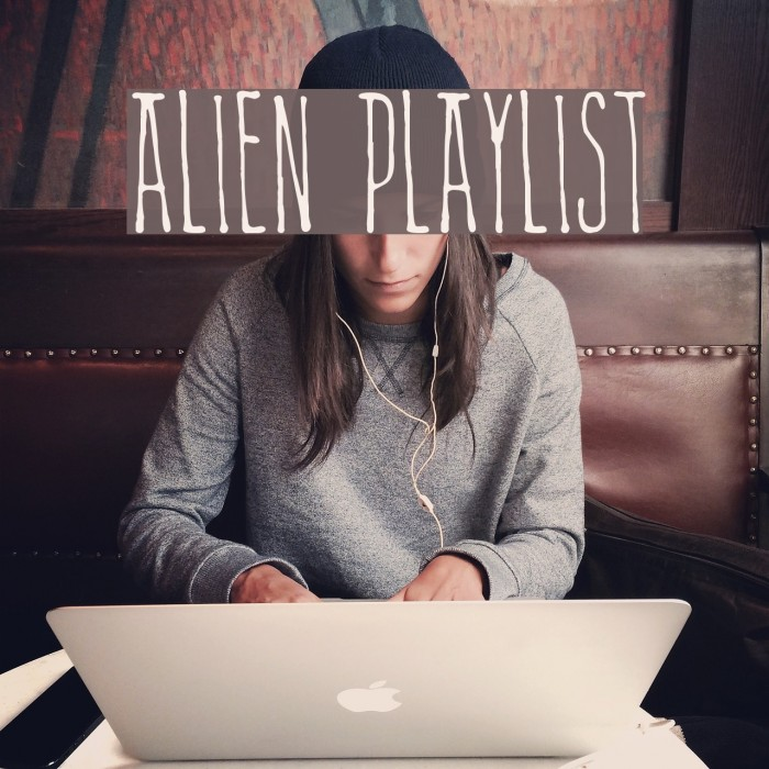 Alien Playlist Fonte examples