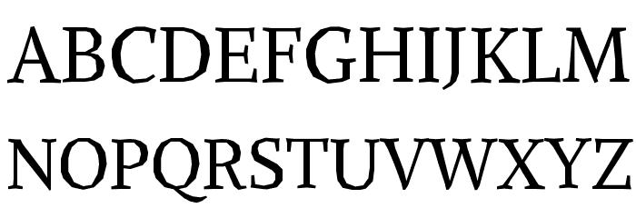 Alike Angular Font UPPERCASE