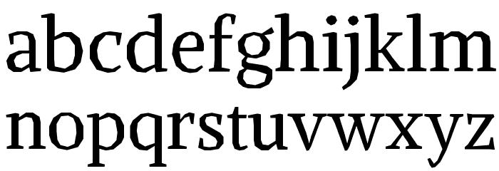 Alike Angular Font LOWERCASE