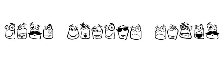 Alin Square Emoji  Frei Schriftart Herunterladen