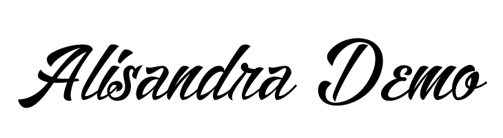 Alisandra Demo  Free Fonts Download