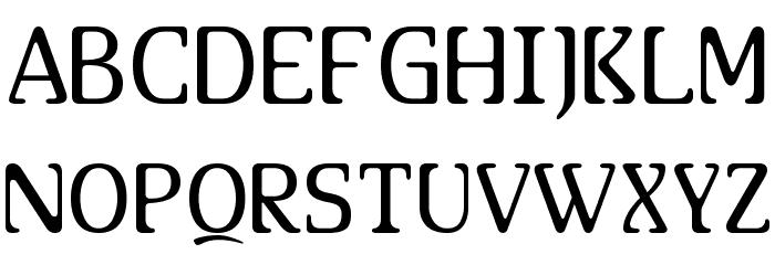 AllHookedUp Font UPPERCASE