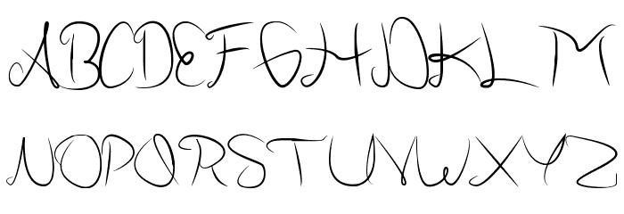 AllabamaPersonalUse Font UPPERCASE