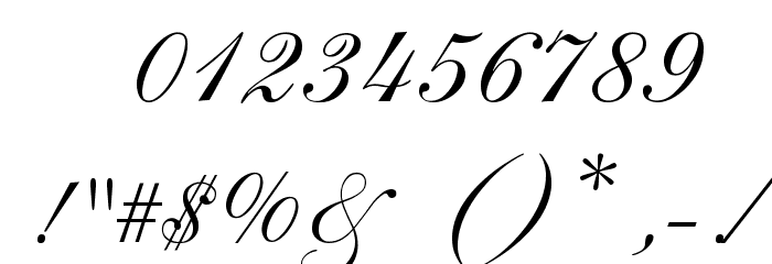 Allegro Font OTHER CHARS