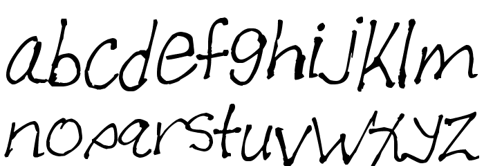 Allen Font Litere mici