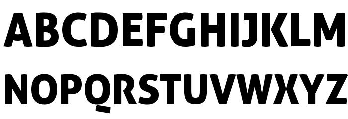 Aller Display Font UPPERCASE