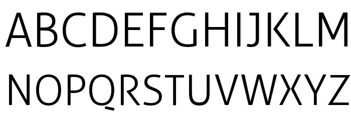 Aller Light Font UPPERCASE