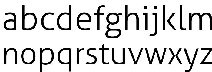 Aller Light Font LOWERCASE