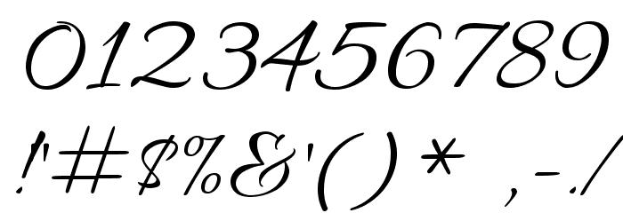 Allura Font OTHER CHARS