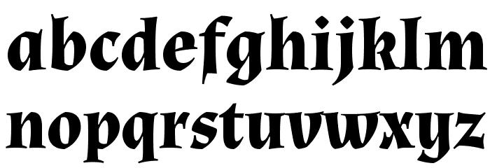 Almendra Bold Font LOWERCASE