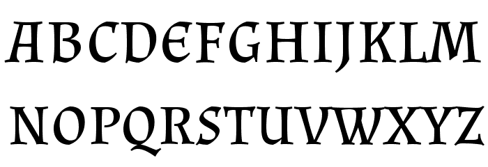 Almendra SC Regular Font LOWERCASE