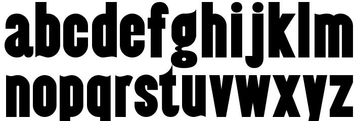 Almonte-Regular Шрифта строчной