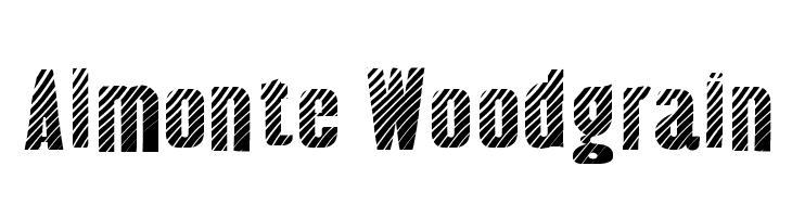 Almonte Woodgrain  Скачать бесплатные шрифты