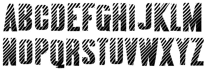 AlmonteWoodgrain-Regular Font Litere mari
