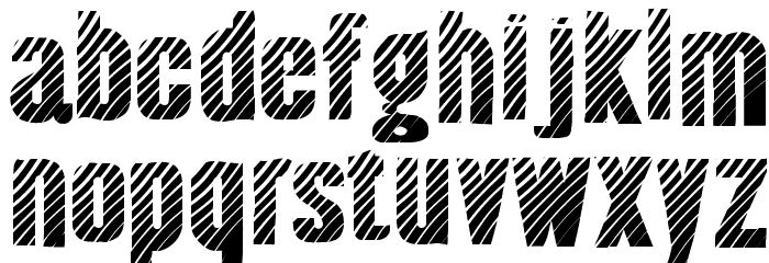 AlmonteWoodgrain-Regular Font Litere mici