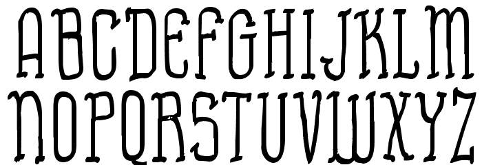Almost Cartoon Font UPPERCASE