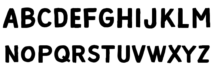 Alpha Beta Шрифта ВЕРХНИЙ
