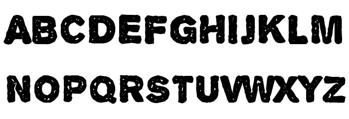 Alpha Echo Font UPPERCASE