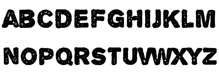 Alpha Echo Font LOWERCASE