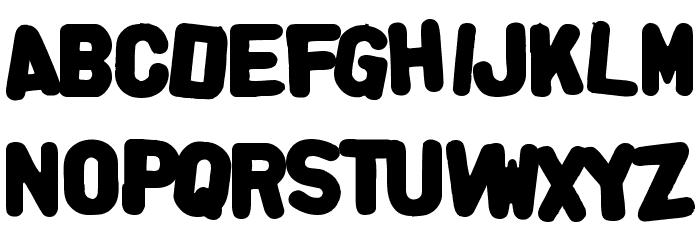 AlphaFridgeMagnets  फ़ॉन्ट अपरकेस