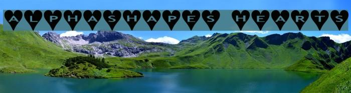 AlphaShapes hearts Font examples