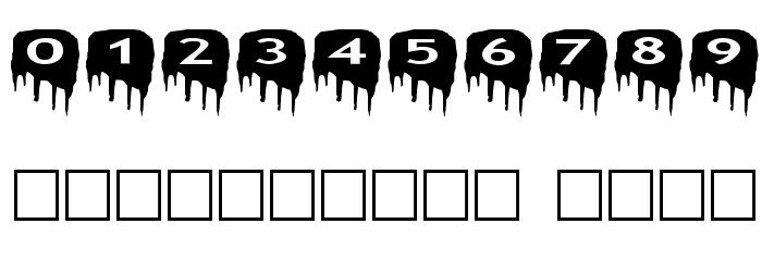 AlphaShapes meltdowns Шрифта ДРУГИЕ символов