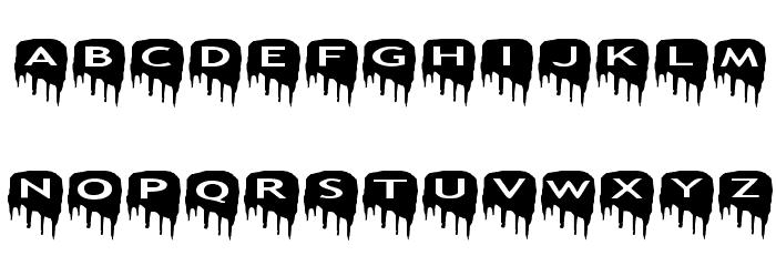 AlphaShapes meltdowns Шрифта строчной