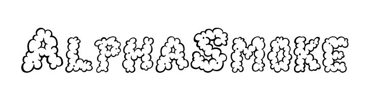 AlphaSmoke  免费字体下载