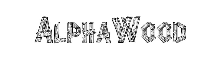 AlphaWood  Скачать бесплатные шрифты