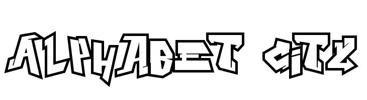 Alphabet City  Descarca Fonturi Gratis