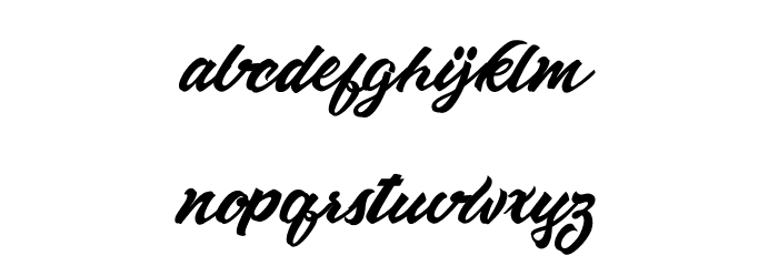 AltamontePersonalUse Font LOWERCASE