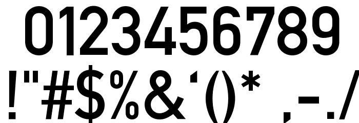 Alte DIN 1451 Mittelschrift Font Alte caractere