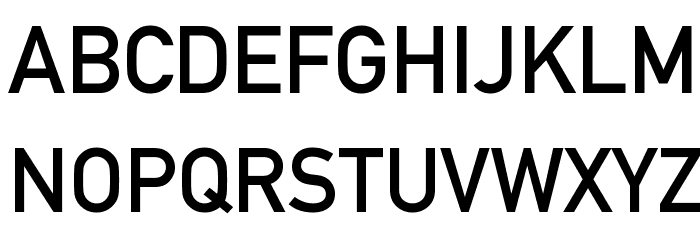 Alte DIN 1451 Mittelschrift Font Litere mari