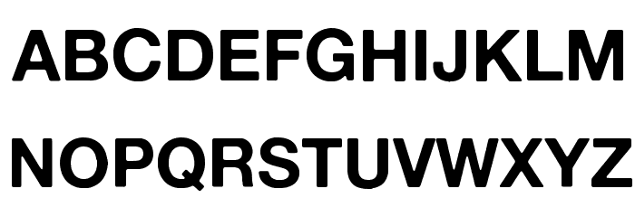 Alte Haas Grotesk Bold Font UPPERCASE