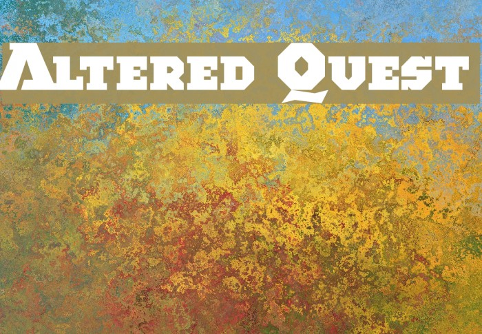 Altered Quest Fonte examples
