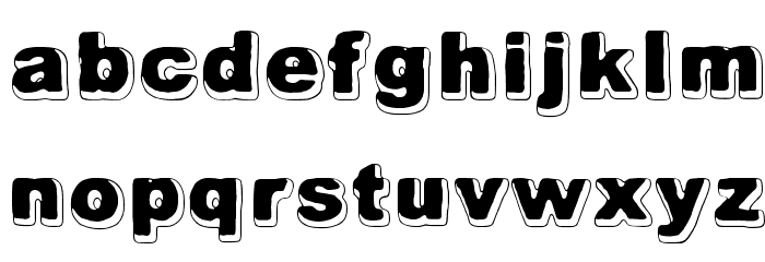 Always Been Right Font LOWERCASE