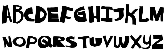 AlwaysNever Font UPPERCASE