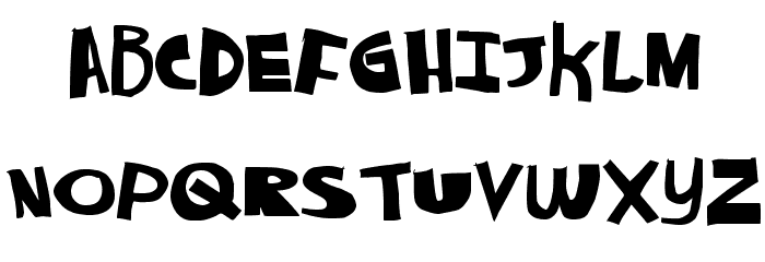 AlwaysNever Font LOWERCASE